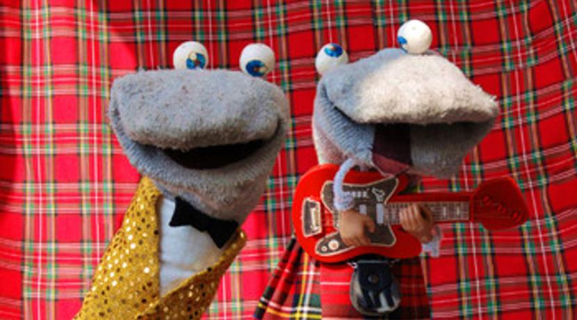 Scottish Falsetto Sock Puppet Theatre
