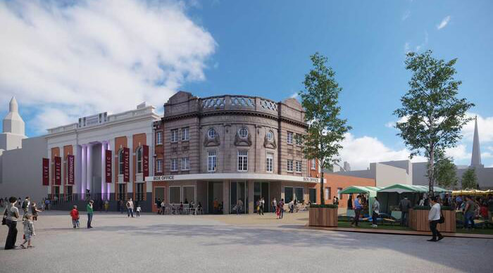 Worcester to get new arts venue as part of five-year redevelopment plan