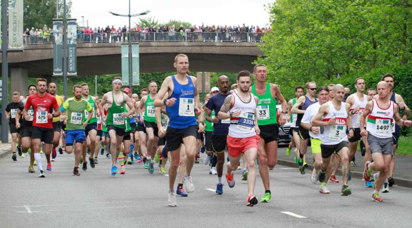 Put a date in your diary for the Potters 'Arf Marathon