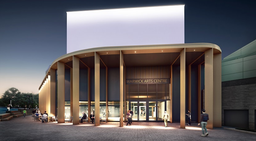 HS2 Fund supports Warwick Arts Centre 20:20 project