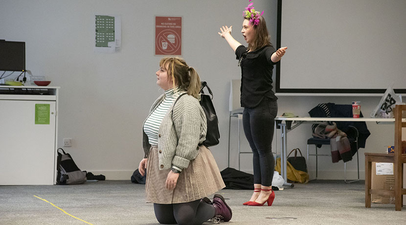 Socially distanced opera by Birmingham Conservatoire students takes place this weekend