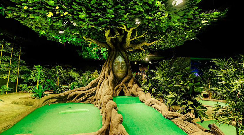 Treetop Adventure Golf to open at Birmingham's Bullring this month