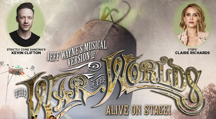 Claire Richards and Kevin Clifton announced for Jeff Wayne's The War of The Worlds