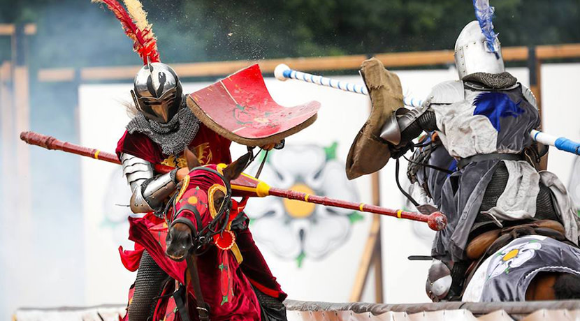 Warwick Castle brings back critically acclaimed show Wars of the Roses