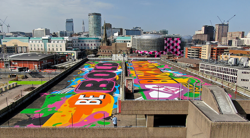 Be Bold, Be Birmingham street art mural unveiled