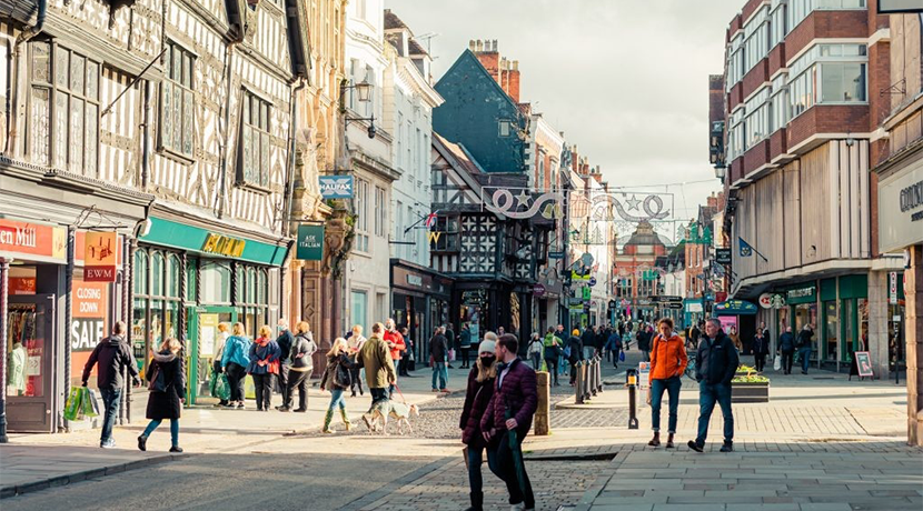 Pedestrianisation of Shrewsbury town centre trialled for second time