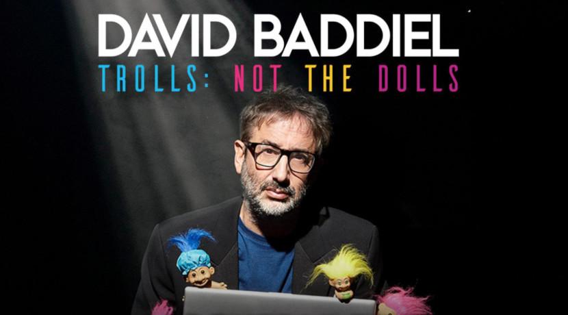 David Baddiel Trolls: Not the Dolls