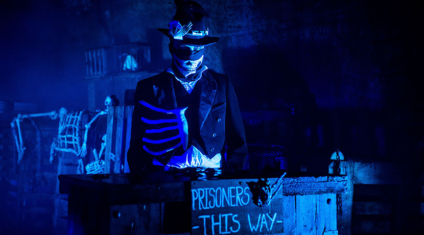 The Haunted Castle returns to Warwick Castle for Halloween