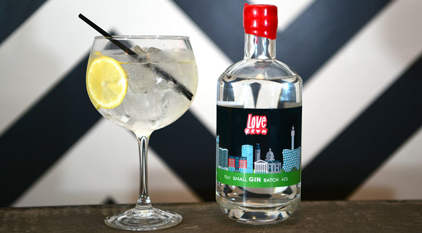Love Brum teams up with 1000 Trades Distillery to launch own gin