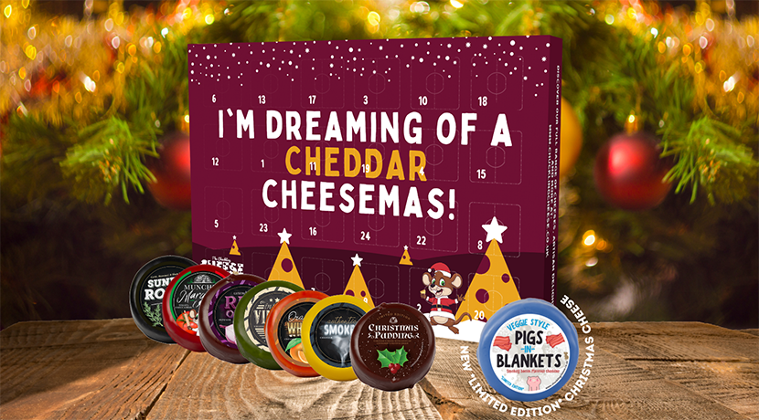 Try something different with The Chuckling Cheese Company's advent calendar