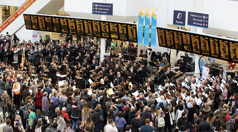 CBSO to perform at Birmingham New Street Station