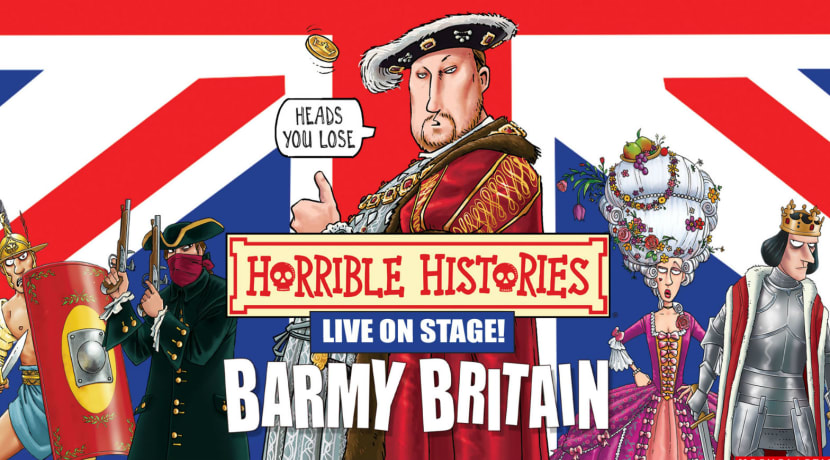 Horrible Histories - Barmy Britain announced for summer drive-in series