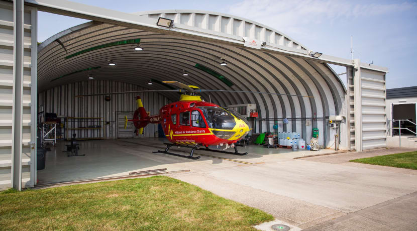 Midlands Air Ambulance charity's online shop reopens