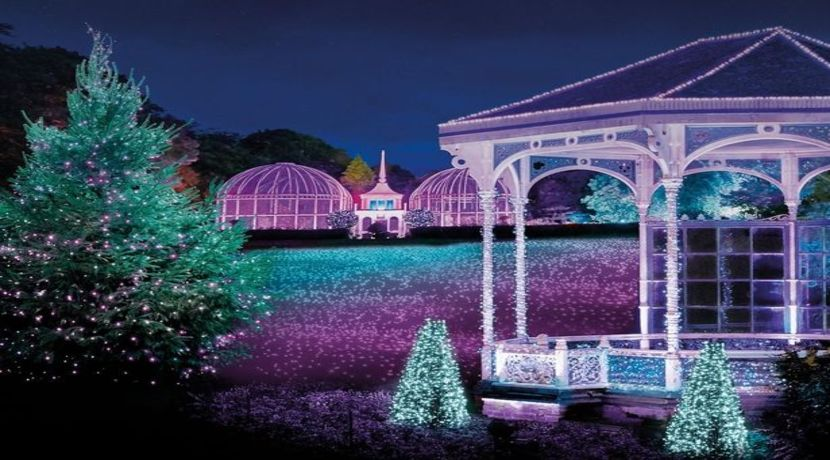 Birmingham Christmas Lights.Christmas Light Trail Comes To Birmingham