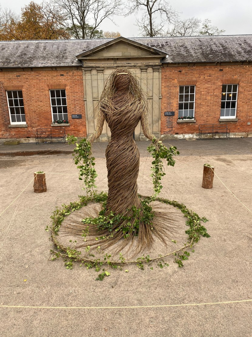 Attingham Park's Christmas 'Inspired By Nature'  Sculpture