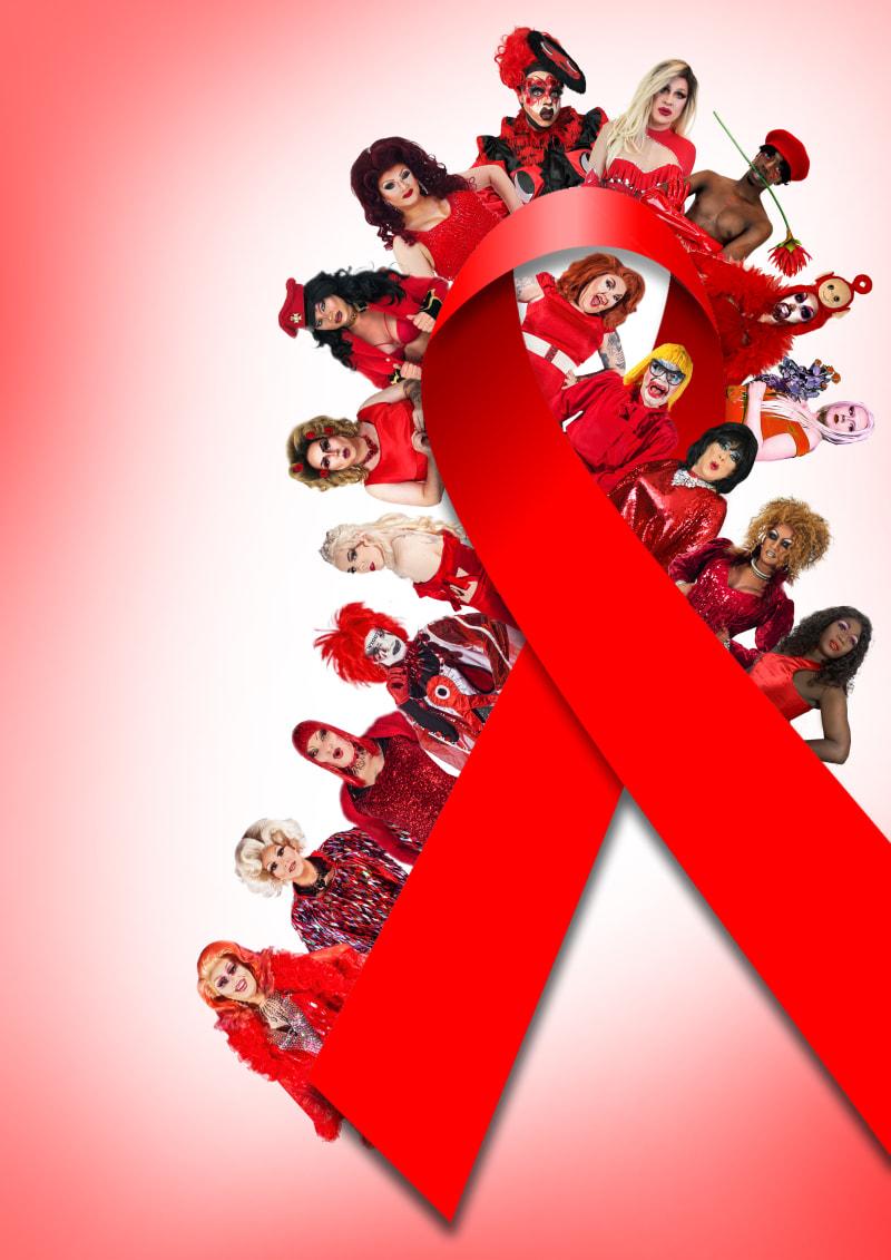 Birmingham drag queens unite for recreated World AIDS Day ...