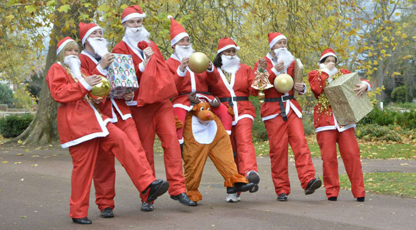 Get in festive spirit and sign up for charity Santa Run
