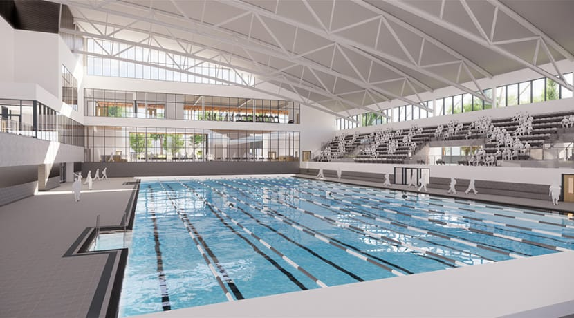 Designs unveiled for the new Sandwell Aquatics Centre
