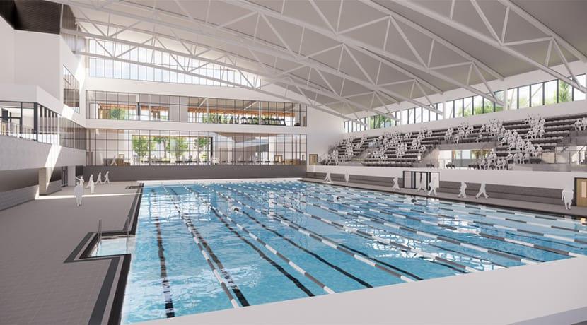 Designs unveiled for the new Sandwell Aquatics Centre