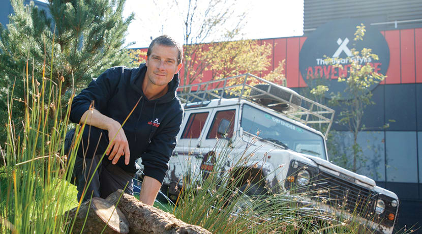 Escape the ordinary at Bear Grylls Adventure