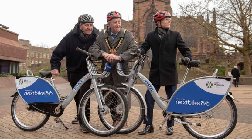 Bike share trial starts in Wolverhampton