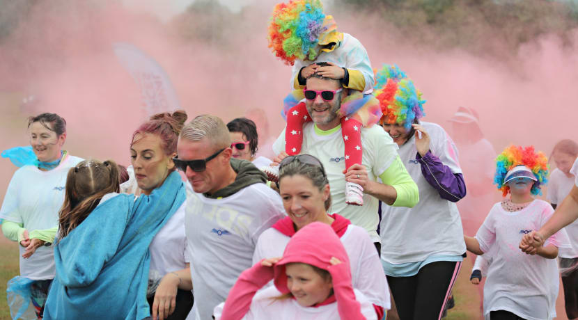 Still time to sign up for colourful charity run at RAF Cosford