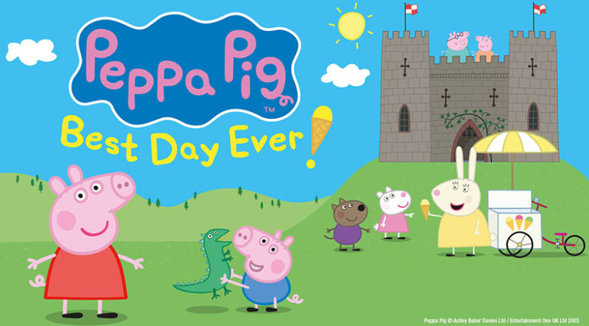 Tickets to Peppa Pig's Best Day Ever