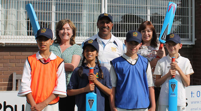 Cricket club scoops grants for kids sessions