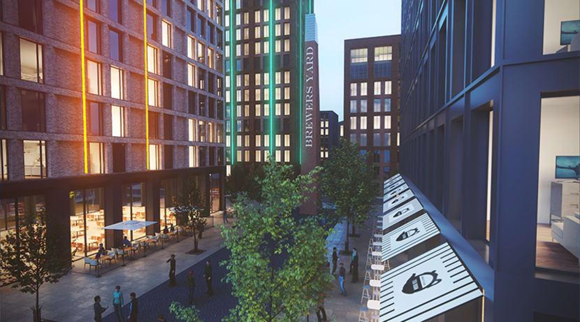 Brewers Yard city living scheme takes next step