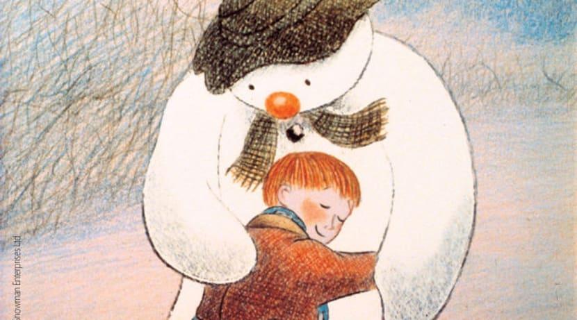 Snowman at Christmas
