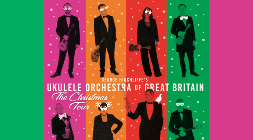 George Hinchliffe Ukulele Orchestra of Great Britain
