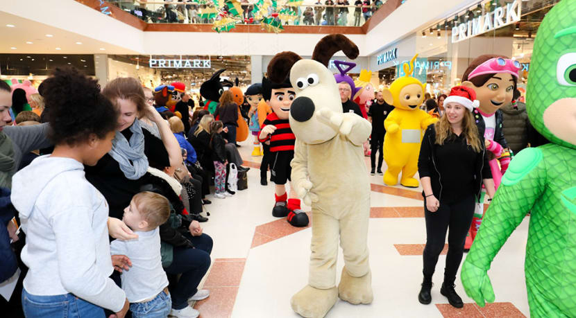 Christmas parade returns to intu Merry Hill this weekend