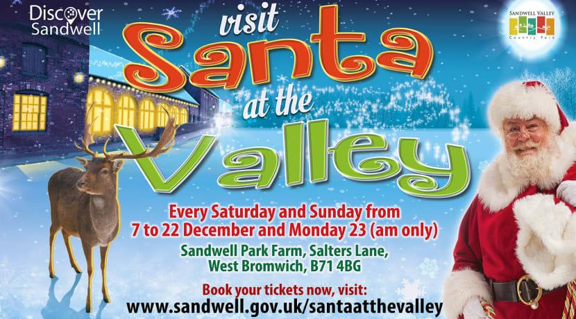 Santa at the Valley