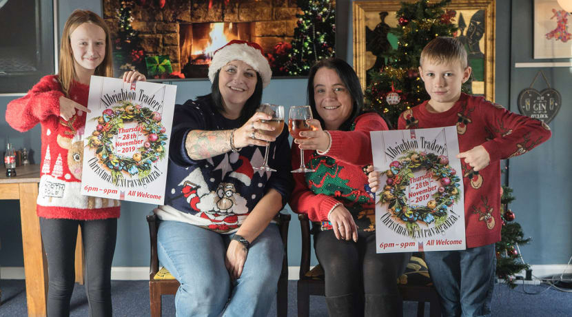 Local businesses enter into the festive spirit for Albrighton's Christmas Extravaganza