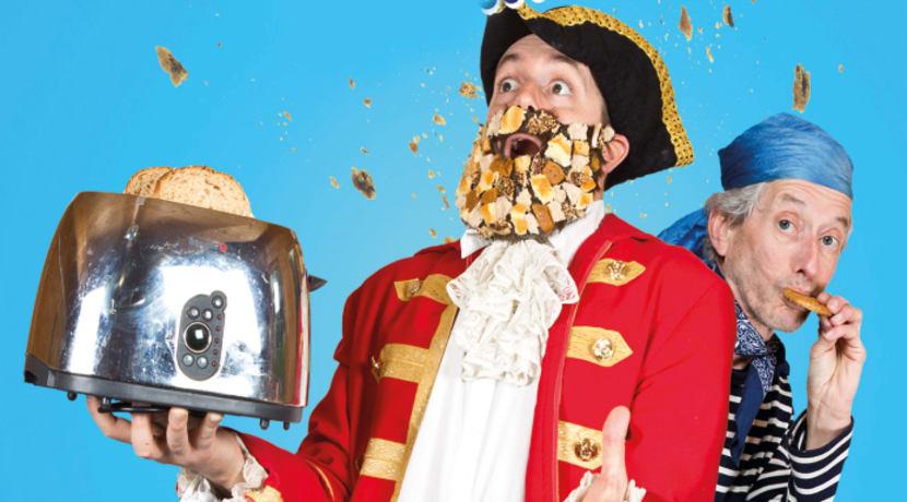 Captain Breadbeard's Bready Brilliant Comedy Cookbook