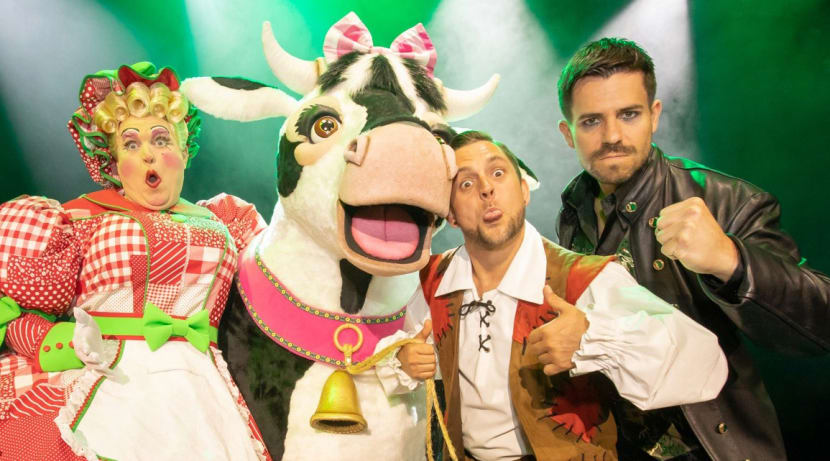 Pantotastic! - Five minutes with the stars of Jack and the Beanstalk
