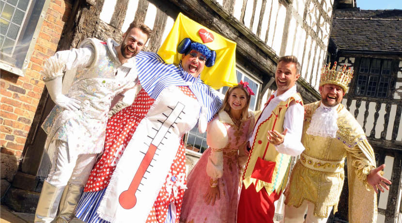 Pantotastic! - Five minutes with the stars of Sleeping Beauty