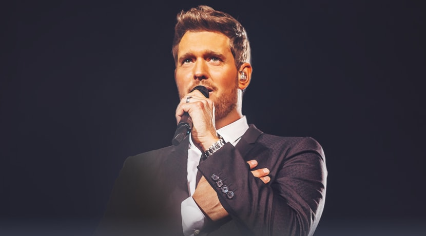 Michael Bublé to perform special open-air concert at Warwick Castle