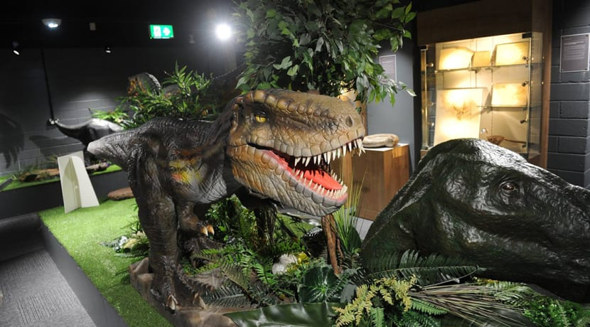 Christ-ma-saurus evening at Dudley Museum