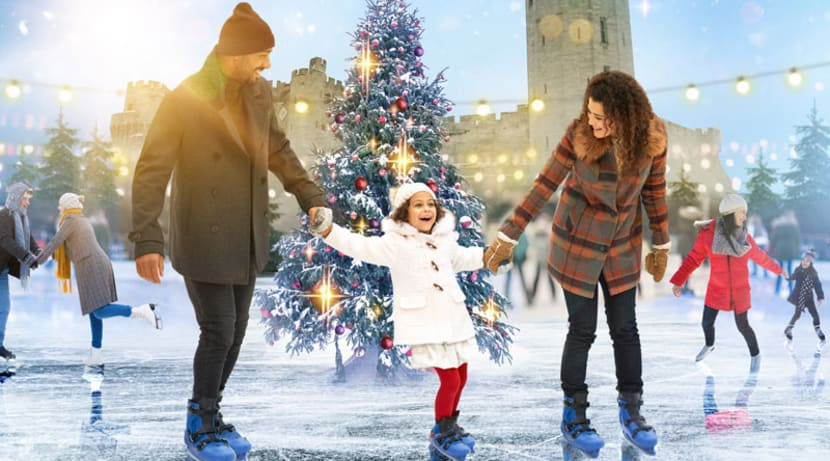 Enjoy plenty of festive fun at Warwick Castle