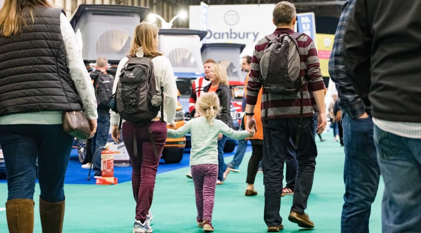 The Caravan, Camping and Motorhome Show 2020