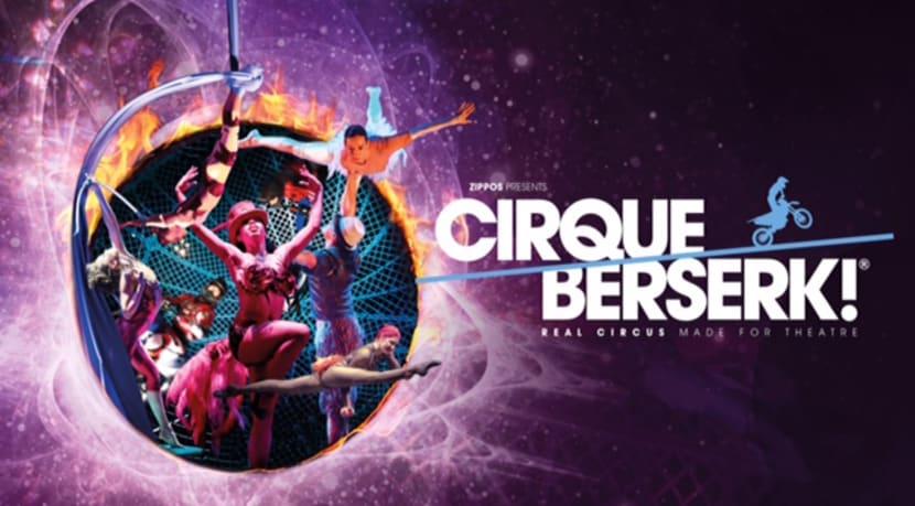 A family ticket to Cirque Berserk!