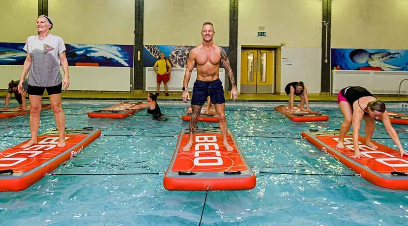 Smethwick Swimming Centre makes a big splash with new fitness craze
