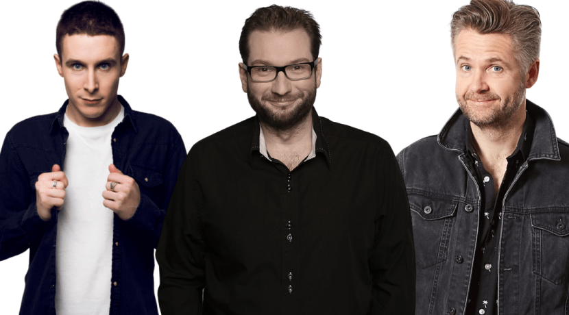 Three TV comics on same bill in Halesowen this summer