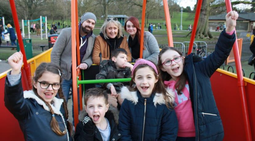 New play equipment for Dudley's Mary Stevens Park