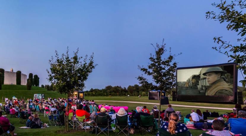The Luna Cinema brings outdoor screenings to National Memorial Arboretum