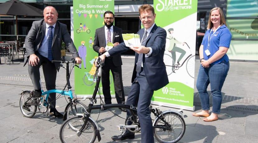 New West Midlands cycling network unveiled