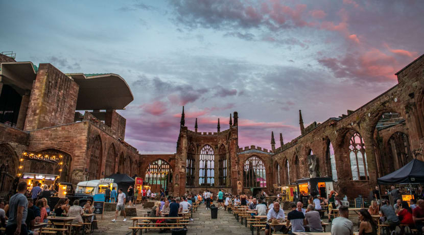 Coventry Cathedral Dining Club returns for five week stint