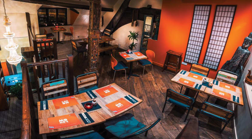 Shrewsbury's independent noodle bar Momo's ticks all the boxes