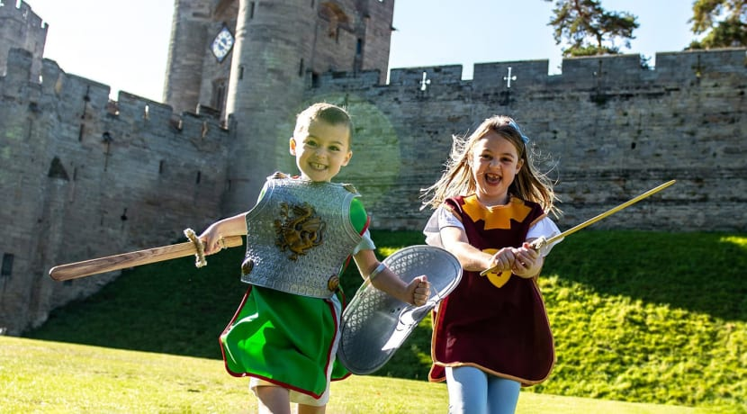 Four tickets to Warwick Castle